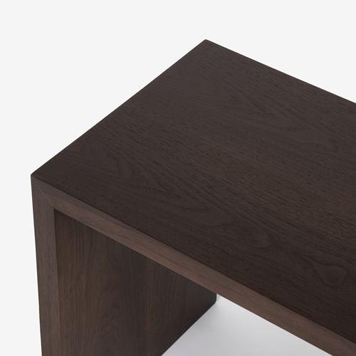大塚家具 オケージョナルテーブル「DM-GF007」ウォールナット材