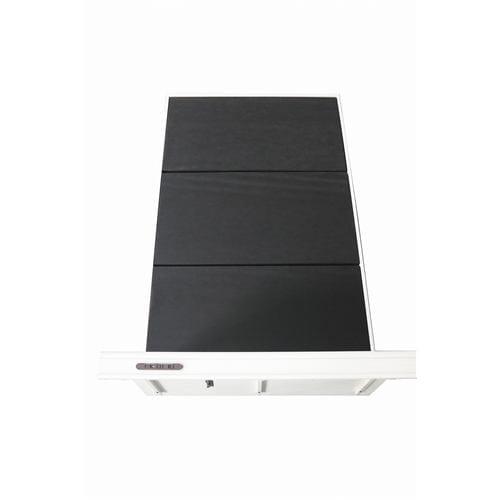 [セミダブル]ヤマダオリジナル コンセント&USBポート付ベッドフレーム ホワイト
