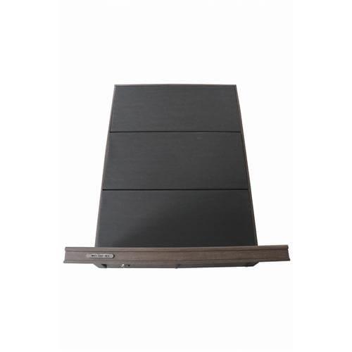 [ダブル]ヤマダオリジナル コンセント&USBポート付ベッドフレーム ダークブラウン