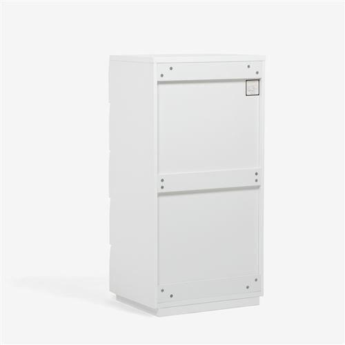 大塚家具 ハイチェスト 「ブレス」 幅60cm ホワイト色