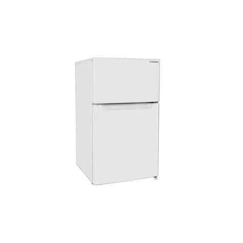 YAMADA SELECT(ヤマダセレクト) YRZC09H1 2ドア冷蔵庫 (87L・右開き) ホワイト