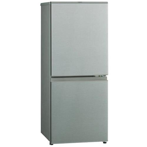 アクア AQR-13K(S) 2ドア冷蔵庫(126L・右開き) ブラッシュシルバー