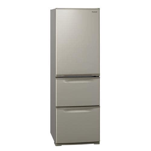 パナソニック NR-C372N-N 3ドアスリム冷凍冷蔵庫 (365L・右開き) グレイスゴールド