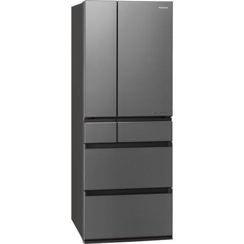 パナソニック NR-F607WPX-H 6ドアIoT対応冷蔵庫 WPXシリーズ (600L・フレンチドア) ミスティスチールグレー(フロスト加工)