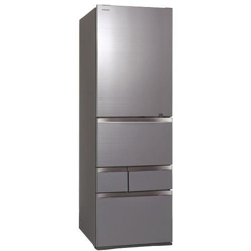 東芝 GR-T500GZ-ZH 5ドア冷凍冷蔵庫 (501L・右開き) アッシュグレージュ