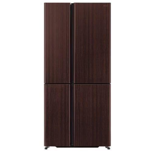 アクア AQR-TZ51K(T) 4ドア冷蔵庫(512L・フレンチドア) TZシリーズ ダークウッドブラウン