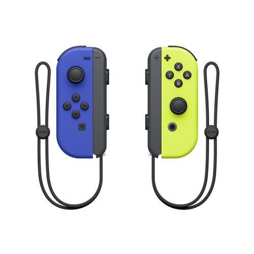 スイッチ 任天堂 コントローラー switch Joy-Con(L) ブルー/(R) ネオンイエロー HAC-A-JAPAA