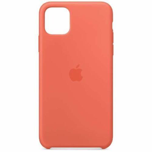 アップル(Apple) MX022FE/A iPhone 11 Pro Maxシリコーンケース クレメンタイン (オレンジ)