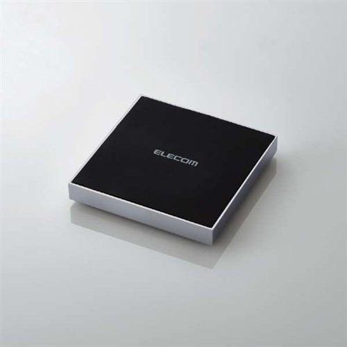 エレコム W-QA11SV Qi規格対応ワイヤレス充電器 急速 卓上 メタル筐体 シルバー