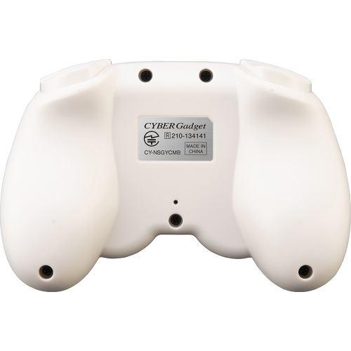 サイバーガジェット CY-NSGYCMB-GC ジャイロコントローラー ミニ 無線タイプ(Switch用) ライトグリーン×クリーム