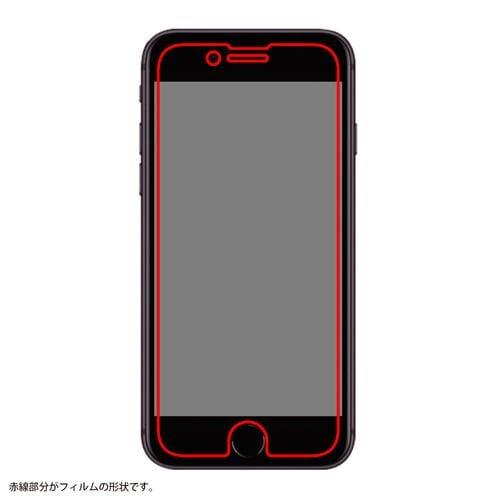 レイ・アウト 2020 iPhoneSE(第2世代)/8/7/6s/6 フィルム さらさらタッチ 指紋 反射防止 RT-P25F/H1