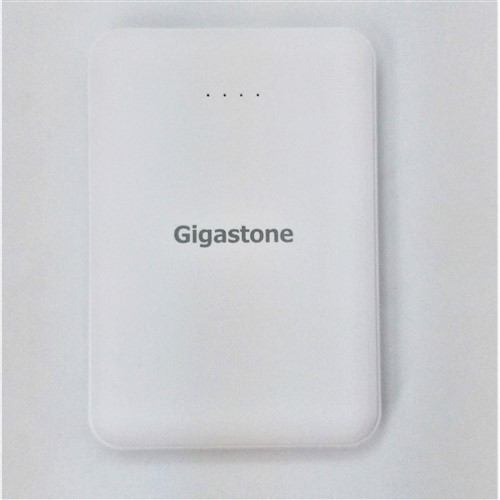 Gigastone GJP-50HWH モバイルバッテリー 5000mAh PSE取得済み ホワイト