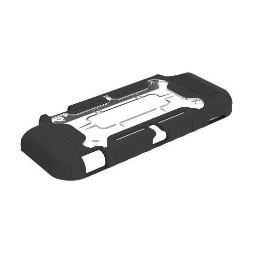 ホリ NSW-028 タフプロテクター for Nintendo Switch Lite クリア×ブラック