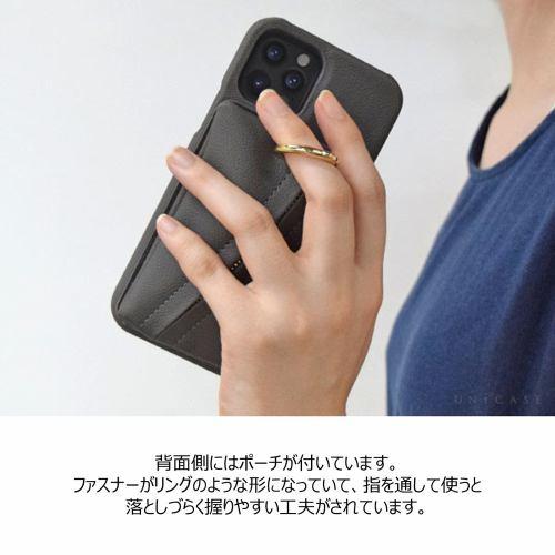 CCCフロンティア iPhone 12 Pro / iPhone 12 (2020年発売 6.1インチ)ケース Clutch Ring Case gray pink ML-CSIP20L-2CRGP