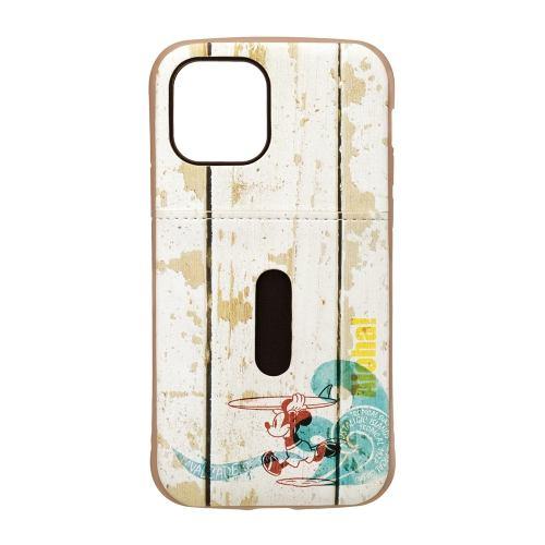 PGA PG-DPT20G05MKY iPhone12/iPhone12 Pro用 タフポケットケース Disney Premium Style ミッキーマウス/サーフ