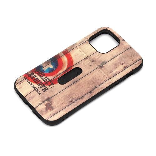 PGA PG-DPT20G20CTA iPhone12/iPhone12 Pro用 タフポケットケース MARVEL Premium Style キャプテン・アメリカ