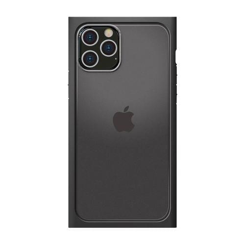PGA PG-20HGT03BK iPhone12 Pro Max用 ガラスタフケース(スクエア型) Premium Style ブラック