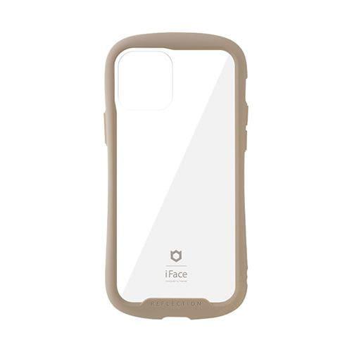 Hamme 41-907-922002 iPhone 12/12 Pro専用iFace Reflection強化ガラスクリアケース   ベージュ