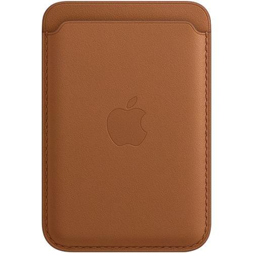 アップル Apple MHLT3FE/A MagSafe対応iPhoneレザーウォレット サドルブラウン
