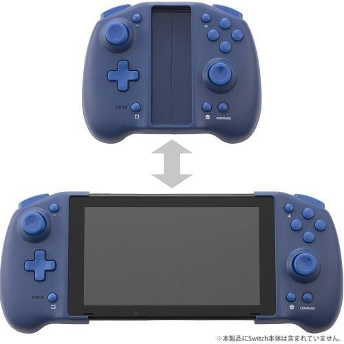 サイバーガジェット CY-NSSEPC-BL ダブルスタイルコントローラー (Switch用) ブルー