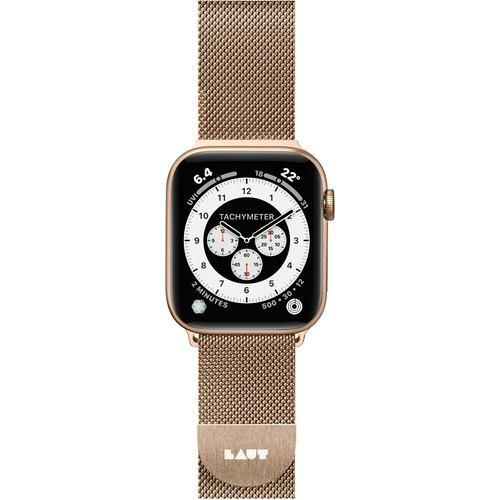 LAUT LAUT_AWS_ST_GD Apple Watch 1/2/3/4 38/40mm BAND ゴールド