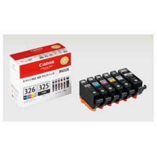 インク キヤノン 純正 カートリッジ インクカートリッジ BCI-326+325/6MP インクタンク + マルチパック インク
