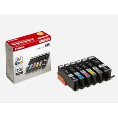 インク キヤノン 純正 カートリッジ インクカートリッジ BCI-351+350/6MP インクタンク 6色マルチパック インク
