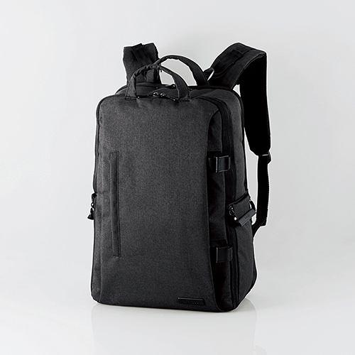 エレコム DGB-S037BK 2STYLEカメラバックパック(ハイグレード・Lサイズ) ブラック