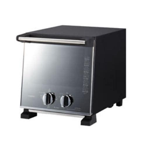 ツインバード TS-D037PB スリムオーブントースター(960W) パールブラック オーブントースター