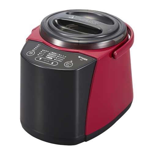 タイガー RSF-A100 精米器(1~5合用) 無洗米機能つき レッド