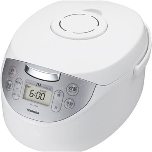 炊飯器 東芝 RC-18HK(W) IH炊飯器 かまど銅コート釜 1升炊き ホワイト 一升 1升