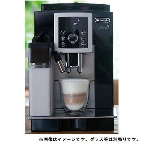 デロンギ ECAM23260SBN コンパクト全自動コーヒーマシン マグニフィカS カプチーノ スマート ブラック×シルバー