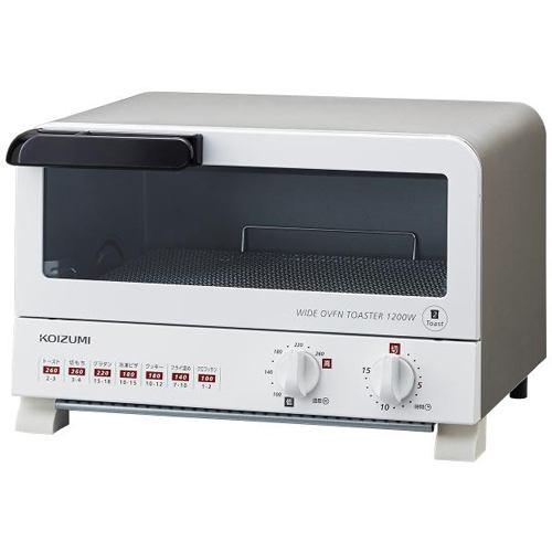 コイズミ KOS1204 オーブントースター ホワイト(W)