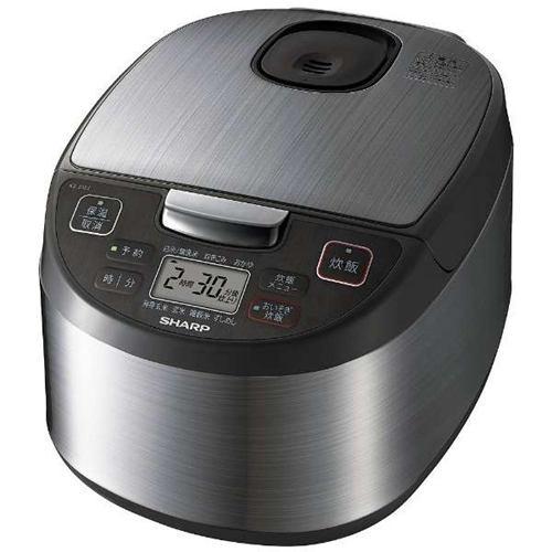 炊飯器 シャープ KS-S10J-S ジャー炊飯器 5.5合炊き シルバー系 5.5合