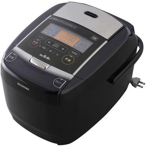 炊飯器 アイリスオーヤマ KRC-IC50-B IHジャー炊飯器 5.5合炊き ブラック 5.5合