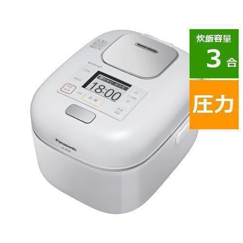 炊飯器 パナソニック SR-JW058-W 可変圧力IHジャー炊飯器 3合炊き 豊穣ホワイト 3合
