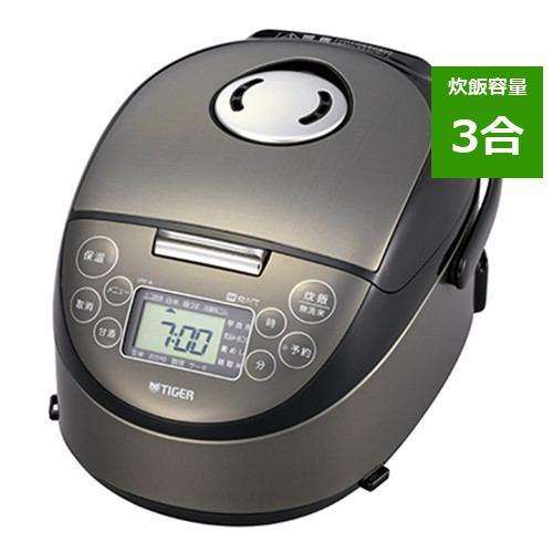 炊飯器 タイガー JPF-A550 K IH炊飯器 炊きたて 3合炊き サテンブラック 3合
