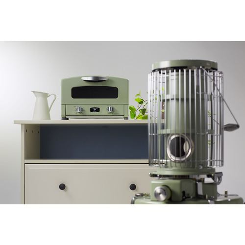 日本エーアイシー AGTG13AG オーブントースター アラジン  グリーン