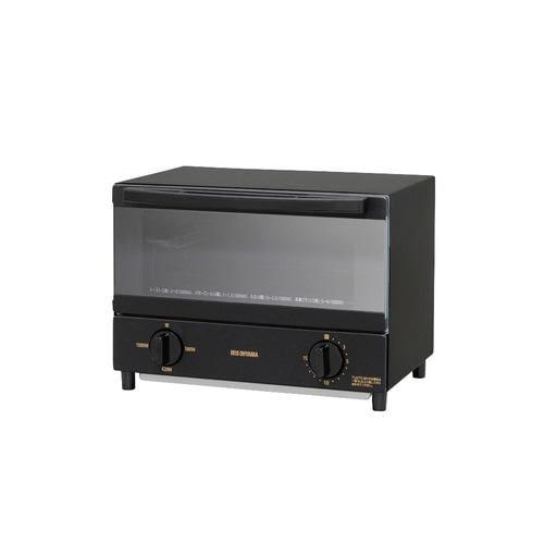 アイリスオーヤマ KSOT-011-B スチームオーブントースター  2枚焼き ブラック