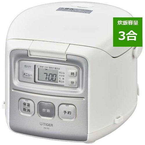 炊飯器 タイガー JAI-R552W マイコン炊飯器 炊きたて 3合炊き ホワイト 3合