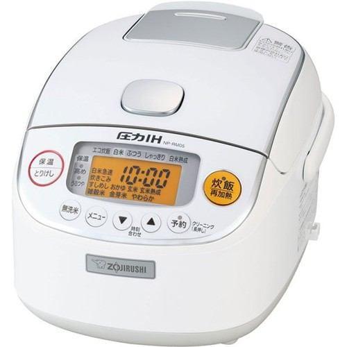 炊飯器 象印 NP-RM05-WA 圧力IH炊飯器 極め炊き 3合炊き ホワイト 3合