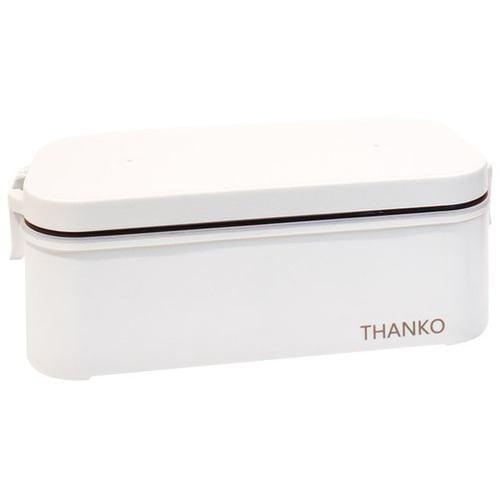 炊飯器 サンコー TKFCLBRC おひとりさま用超高速弁当箱炊飯器 ホワイト