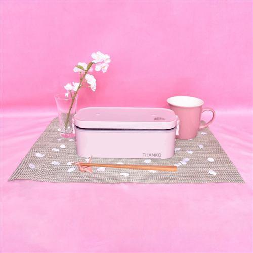 炊飯器 サンコー TKFCLBRC おひとりさま用超高速弁当箱炊飯器 ピンク
