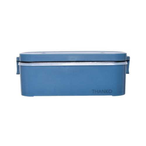 炊飯器 サンコー TKFCLBRC おひとりさま用超高速弁当箱炊飯器 ブルー