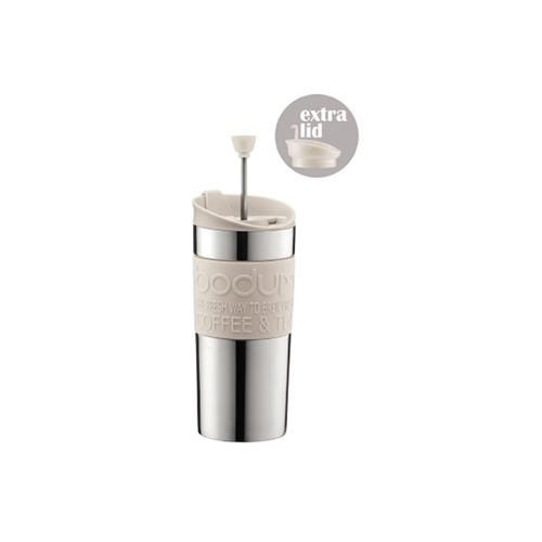 ボダム K11067-913 トラベルプレスセット 350ml ステンレス オフホワイト