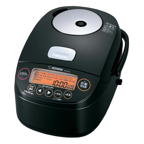 炊飯器 象印 NP-BK10-BA 圧力IH炊飯器  5.5合炊き ブラック 5.5合