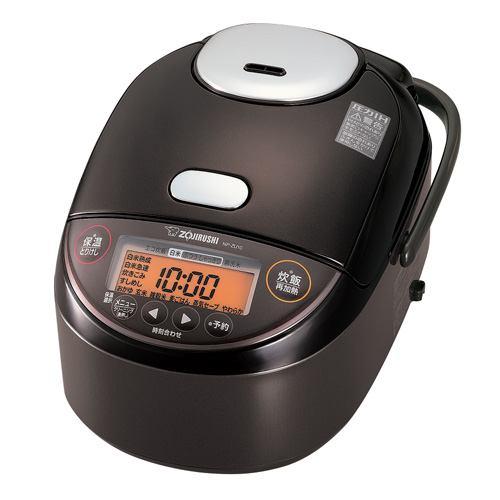 炊飯器 象印 NP-ZU10-TD 圧力IH炊飯器  5.5合炊き ダークブラウン 5.5合