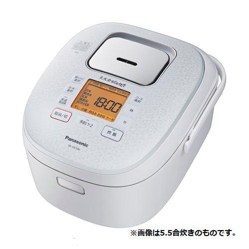 炊飯器 パナソニック SR-HX180-W IH炊飯器 大火力おどり炊き ダイヤモンド銅釜 1升炊き スノーホワイト 一升 1升