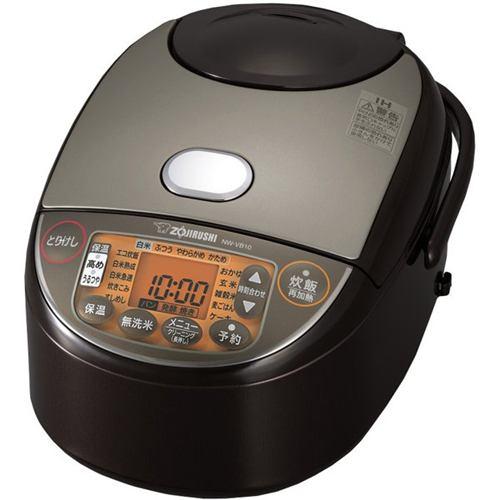 炊飯器 象印 NW-VB10-TA 極め炊き 5.5合炊き IH ブラウン 5.5合