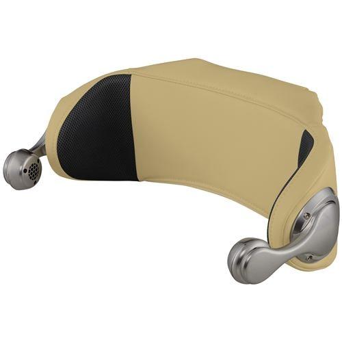 ファミリーイナダ OPSH100-CM スピーカーヘッドレスト キャメル色